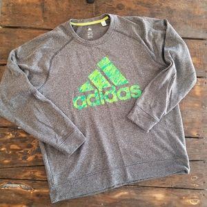 ADIDAS Climawarm Crewneck Fleece Sweatshirt